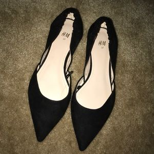 H&M flats .. only worn once.